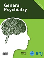 front cover of General Psychiatry journal